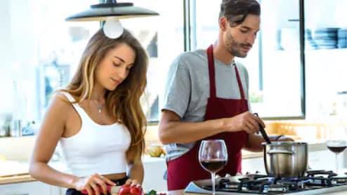 préparation repas aménagement cuisine