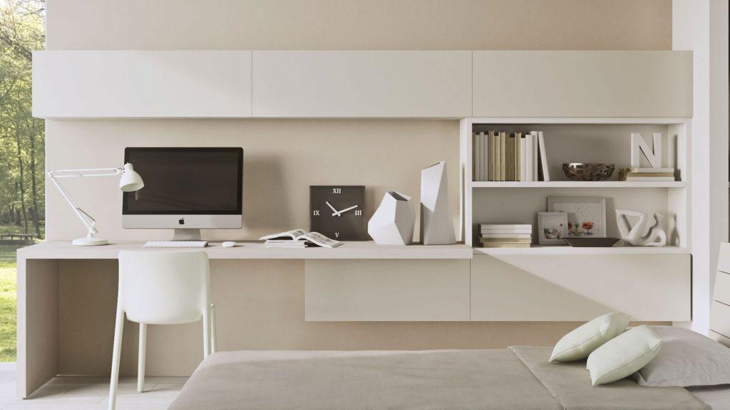 mobilier de bureau annecy blanc