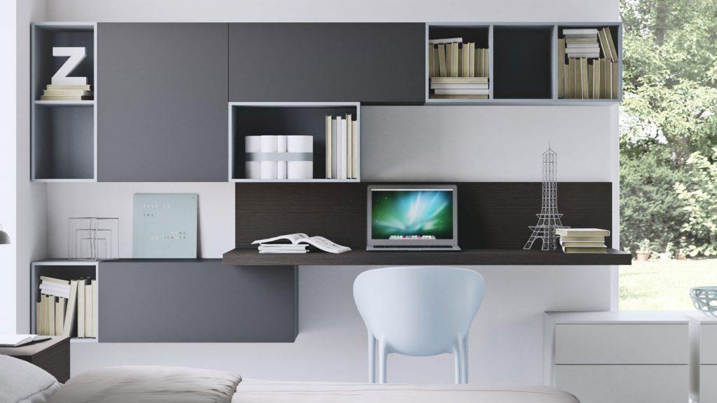 mobilier de bureau annecy gris