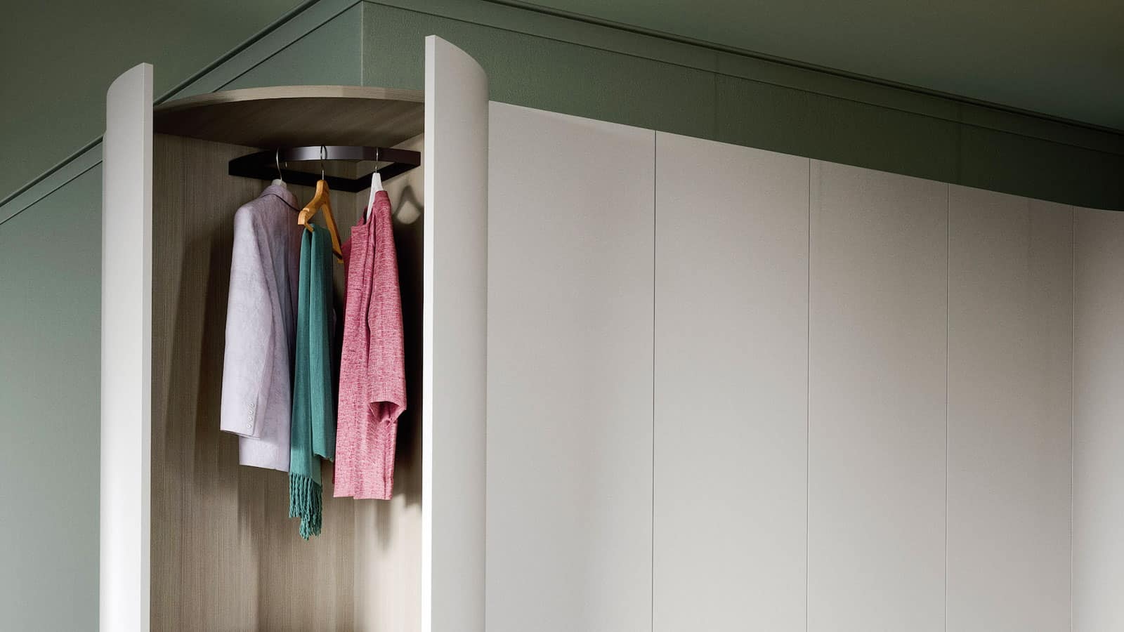 Dressing Angle Sur Mesure armoire d'angle | fabrication européenne | optimal annecy