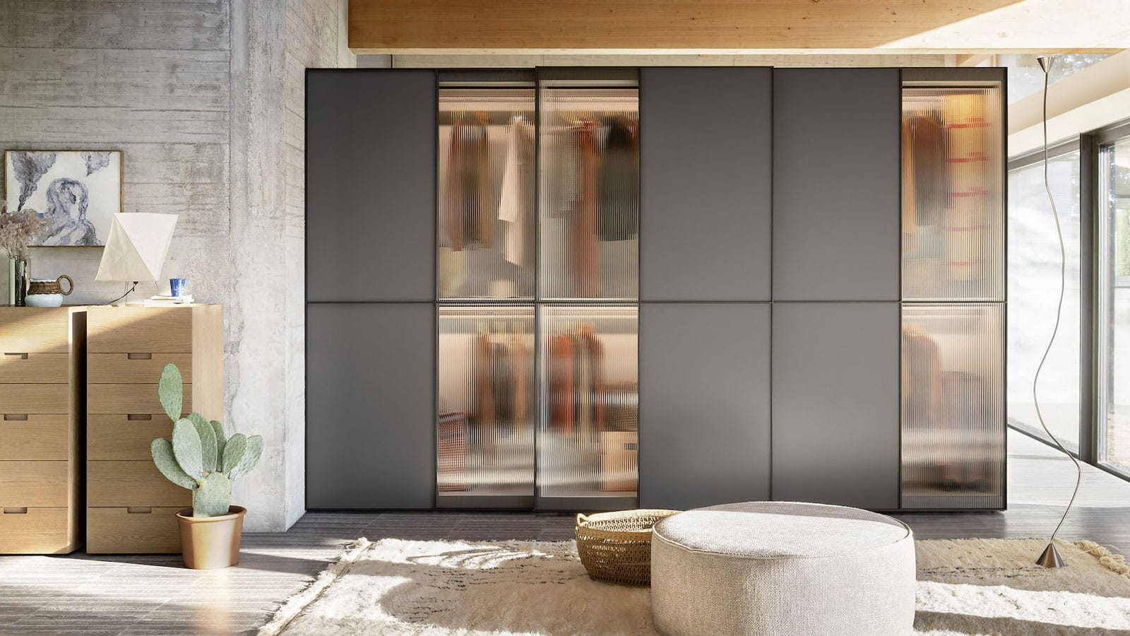 Armoire porte coulissante   Rangements   Optimal Annecy