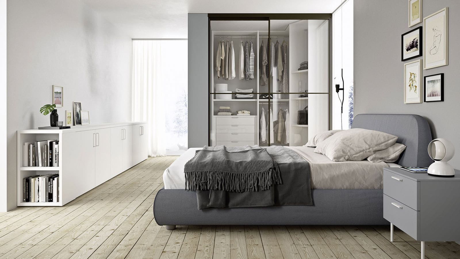 Photo Chambre Adulte Design chambre adulte | annecy | optimal agencement