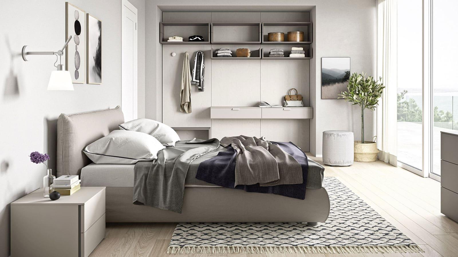 Chambre Adulte Avec Bureau meubles de chambre à coucher | annecy | optimal agencement