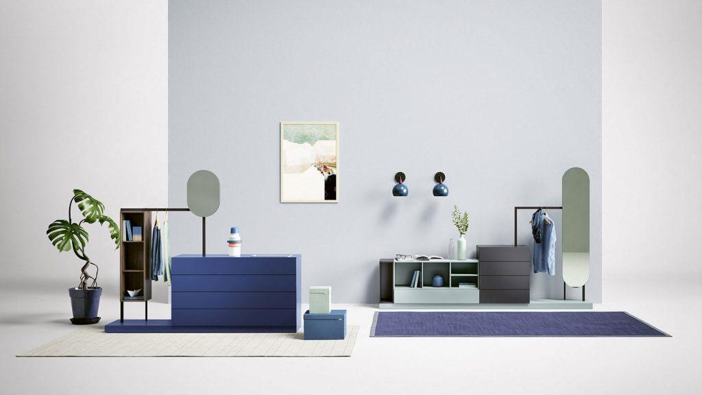 meuble chambre bleu annecy