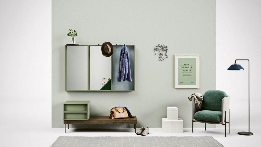 meuble chambre vert annecy