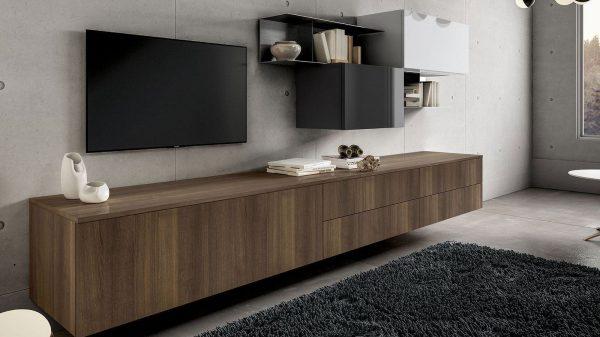 meuble tv industriel thonon bois