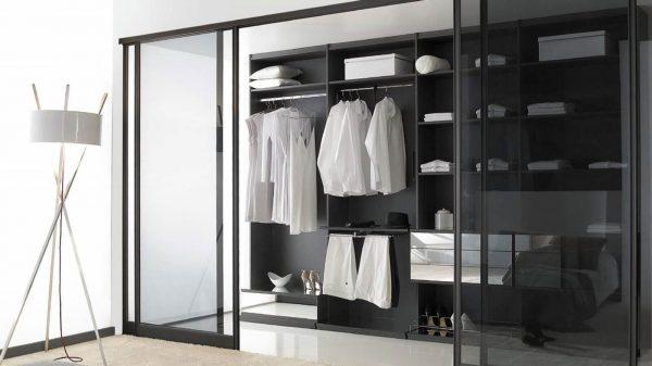 portes dressing transparentes