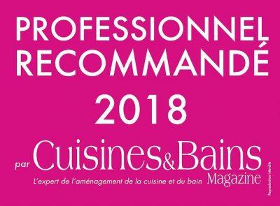 cuisines et bains professionnel recommandé